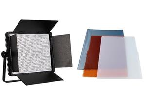 Panel led 6850 lumenes + filtros + trípode