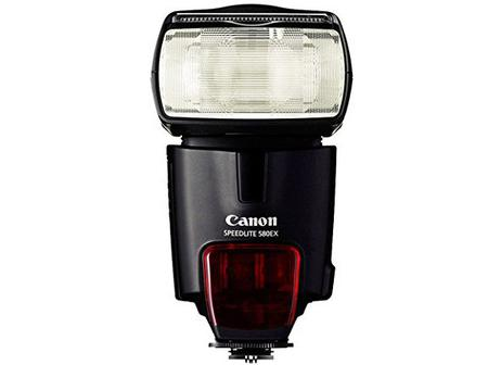 Canon speedlite 580 EX II camera flash